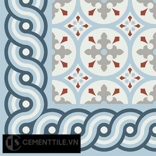 Gạch bông CTS BC116.3(1-2-4) - Encaustic cement tile CTS BC116.3(1-2-4)