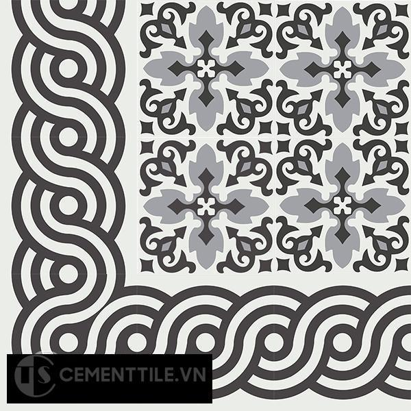 Gạch bông CTS B116.3(4-13) - Encaustic cement tile CTS BC116.3(4-13)