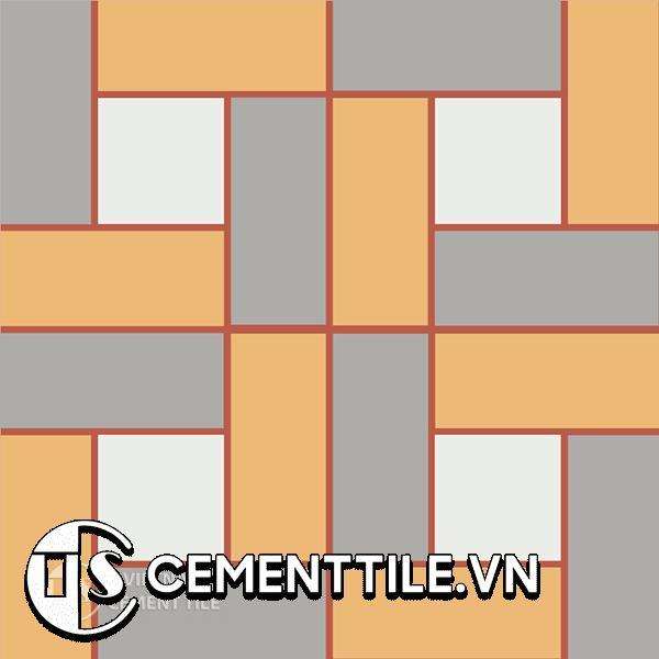 Gạch bông CTS 110.1(4-5-6-9) - Encaustic cement tile CTS 110.1(4-5-6-9)