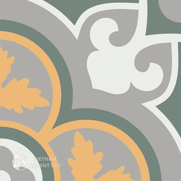 Gạch bông CTS 129.6(4-6-9-24) - Encaustic cement tile CTS 129.6(4-6-9-24)