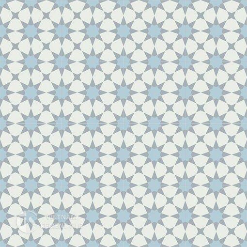 1Gạch bông CTS 141.5(2-4-50) -16 viên - Encaustic cement tile CTS 141.5(2-4-50)-16 tiles