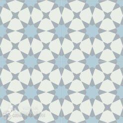 1Gạch bông CTS 141.5(2-4-50) -4 viên - Encaustic cement tile CTS 141.5(2-4-50)-4 tiles
