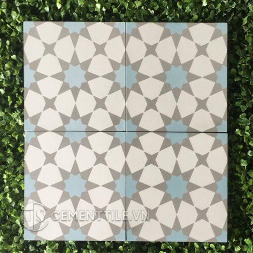 Gạch bông CTS 141.5(2-4-50) - Encaustic cement tile CTS 141.5(2-4-50)