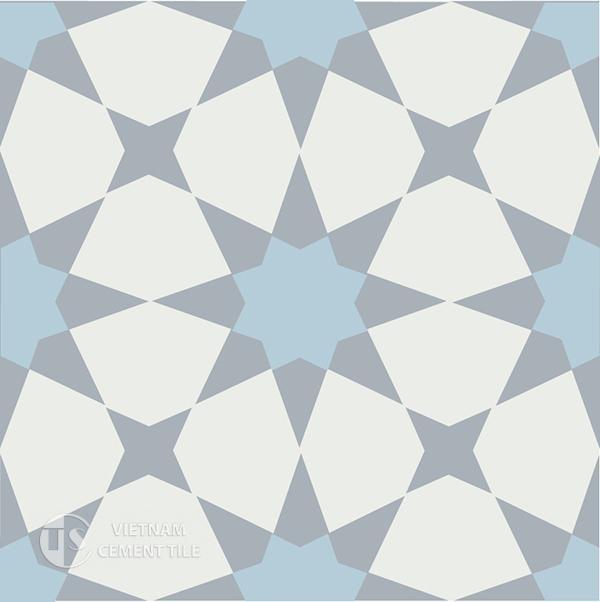 1Gạch bông CTS 141.5(2-4-50) - Encaustic cement tile CTS 141.5(2-4-50)