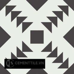 Gạch bông CTS 157.1(4-13) - 4 viên - Encaustic cement tile CTS 157.1(4-13)-4 tiles