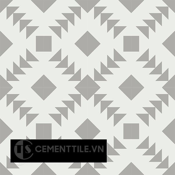 Gạch bông CTS 157.2(4-9) - 16 viên - Encaustic cement tile CTS 157.2(4-9)-16 tiles
