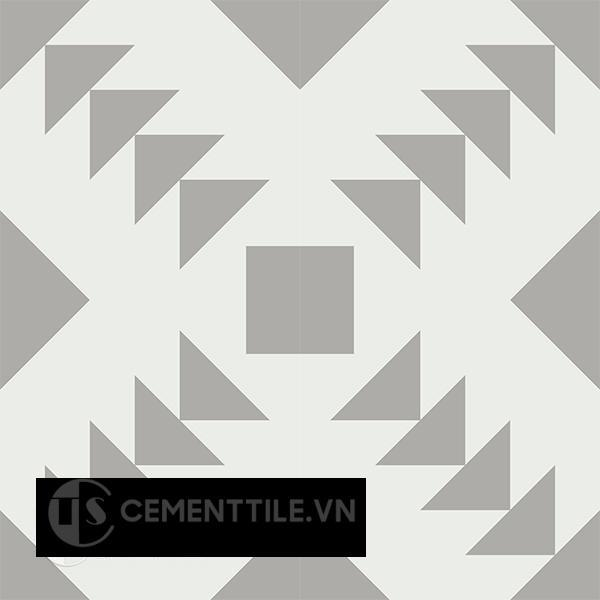 Gạch bông CTS 157.2(4-9) - 4 viên - Encaustic cement tile CTS 157.2(4-9)-4 tiles