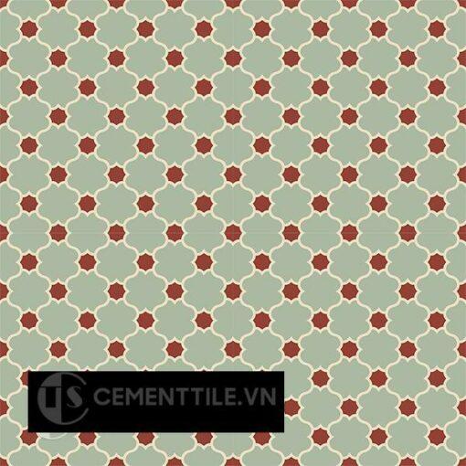 Gạch bông CTS 168.3(7-59-62) - 16 viên - Encaustic cement tile CTS 168.3(7-59-62)-16 tiles
