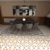 Gạch bông cts 186.1 lát nền nhà bếp