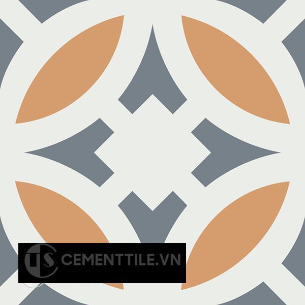 Gạch bông CTS 186.1(4-33-34)  - Encaustic cement tile CTS 186.1(4-33-34)