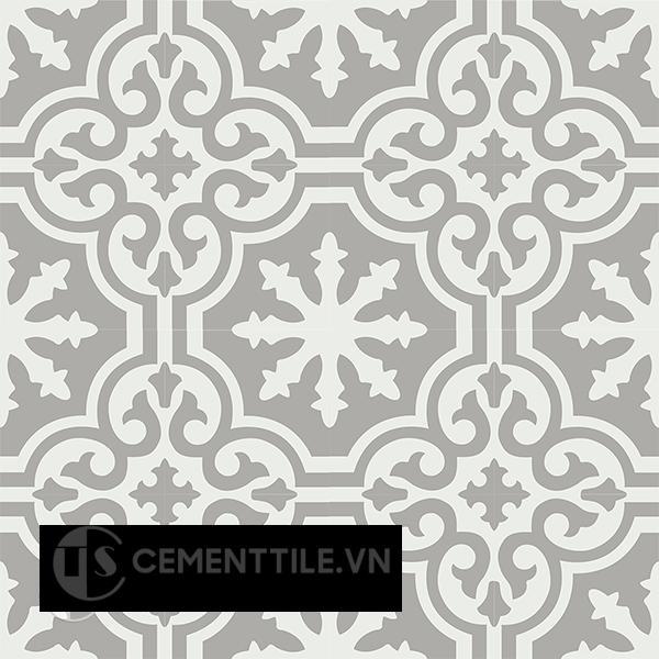 Gạch bông CTS 189.1(4-9) - 16 viên - Encaustic cement tile CTS 189.1(4-9)-16 tiles
