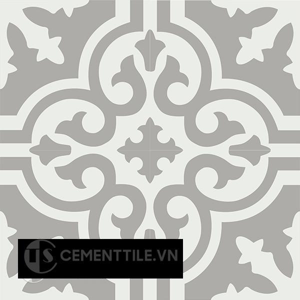 Gạch bông CTS 189.1(4-9) - 4 viên - Encaustic cement tile CTS 189.1(4-9)-4 tiles
