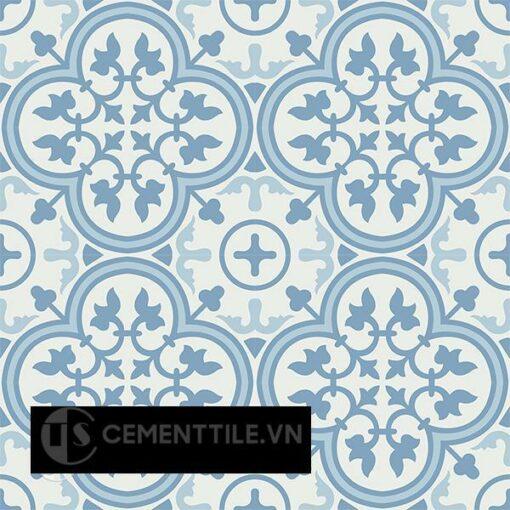 Gạch bông CTS 2.20(2-4-16) - 16 viên - Encaustic cement tile CTS 2.20(2-4-16)-16 tiles