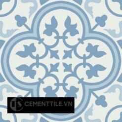 Gạch bông CTS 2.20(2-4-16) - 4 viên - Encaustic cement tile CTS 2.20(2-4-16)-4 tiles