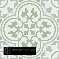 Gạch bông CTS 2.21(4-7-26) - 4 viên - Encaustic cement tile CTS 2.21(4-7-26)-4 tiles