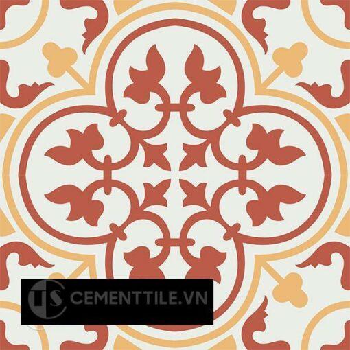Gạch bông CTS 2.22(4-5-6) - 4 viên - Encaustic cement tile CTS 2.22(4-5-6)-4 tiles