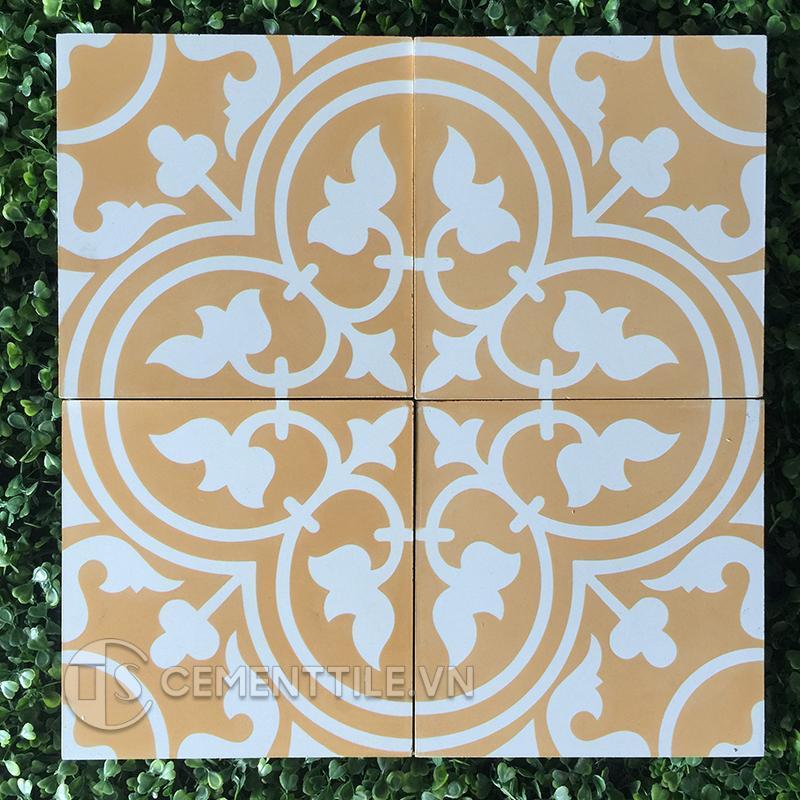 Gạch bông CTS 2.23(4-6) - Encaustic cement tile CTS 2.23(4-6)