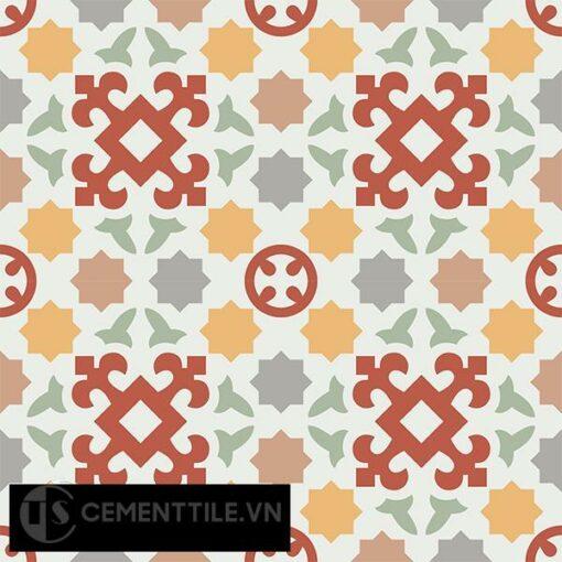 Gạch bông CTS 33.1(4-5-6-7-9-11) - 4 viên - Encaustic cement tile CTS 33.1(4-5-6-7-9-11)-4 tiles