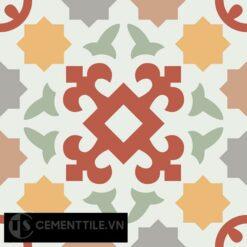 Gạch bông CTS 33.1(4-5-6-7-9-11) - Encaustic cement tile CTS 33.1(4-5-6-7-9-11)