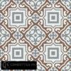 Gạch bông CTS 64.1(4-14-24) - 16 viên - Encaustic cement tile CTS 64.1(4-14-24)-16 tiles