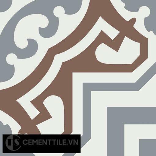 Gạch bông CTS 64.1(4-14-24) - Encaustic cement tile CTS 64.1(4-14-24)