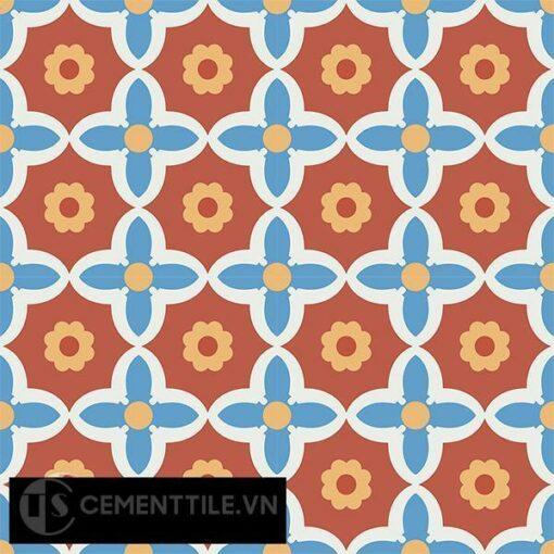 Gạch bông CTS 78.2(4-5-6-8) - 16 viên - Encaustic cement tile CTS 78.2(4-5-6-8)-16 tiles