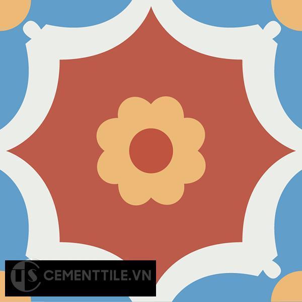 Gạch bông CTS 78.2(4-5-6-8) - Encaustic cement tile CTS 78.2(4-5-6-8)