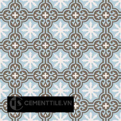 Gạch bông CTS 1.47(2-4-28) - 16 viên - Encaustic cement tile CTS 1.47(2-4-28)-16 tiles