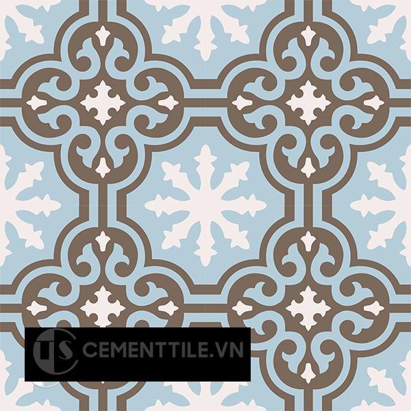 Gạch bông CTS 1.47(2-4-28) - 4 viên - Encaustic cement tile CTS 1.47(2-4-28)-4 tiles