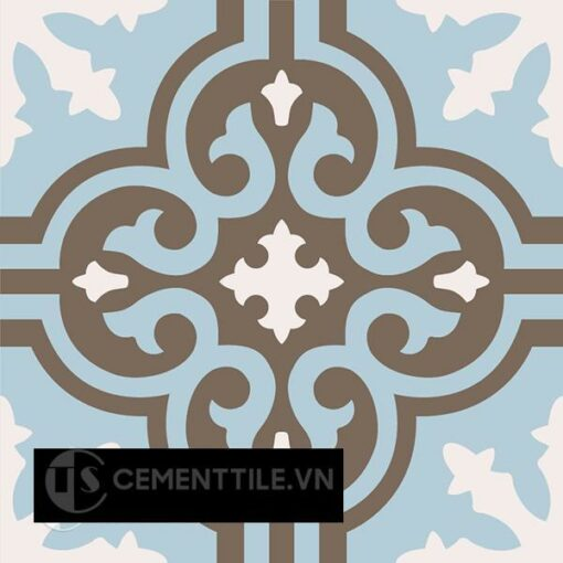 Gạch bông CTS 1.47(2-4-28) - Encaustic cement tile CTS 1.47(2-4-28)