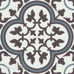 Gạch bông CTS 2.25 - 4 viên - Encaustic cement tile CTS 2.25-4tiles