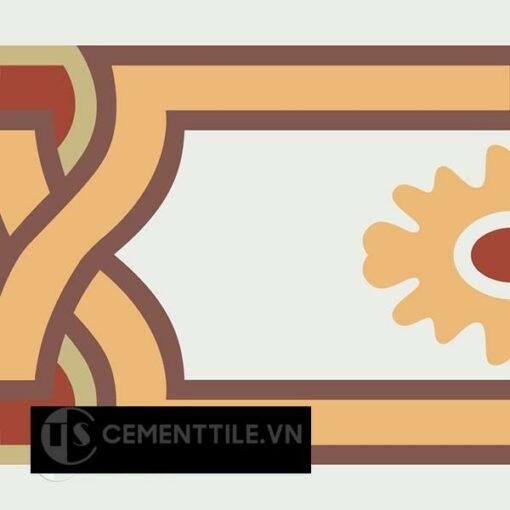 Gạch bông CTS B110.4(4-6-30-52-60) - Encaustic cement tile CTS B110.4(4-6-30-52-60)