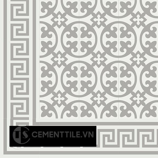 Gạch bông CTS BC103.10(4-9) - Encaustic cement tile CTS BC103.10(4-9)