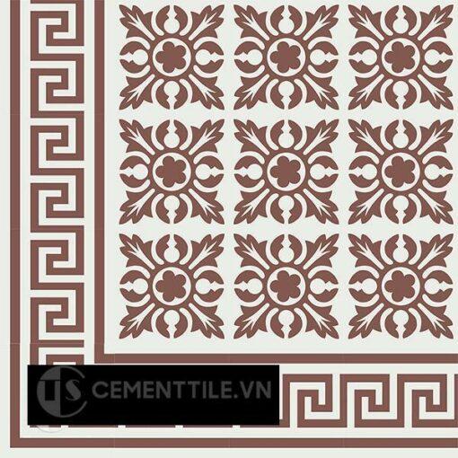 Gạch bông CTS BC103.7(4-60) - Encaustic cement tile CTS BC103.7(4-60)