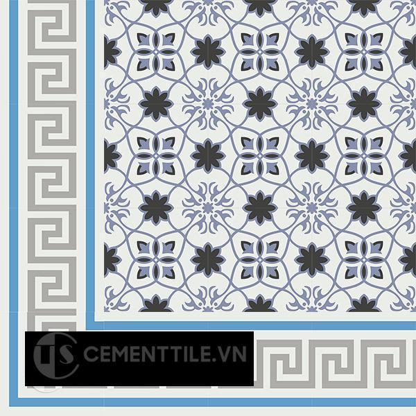 Gạch bông CTS BC103.8(4-8-9) - Encaustic cement tile CTS BC103.8(4-8-9).x