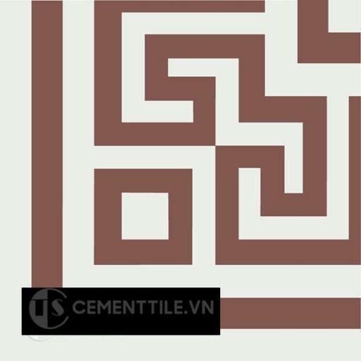 Gạch bông CTS C103.7(4-60) - Encaustic cement tile CTS C103.7(4-60)