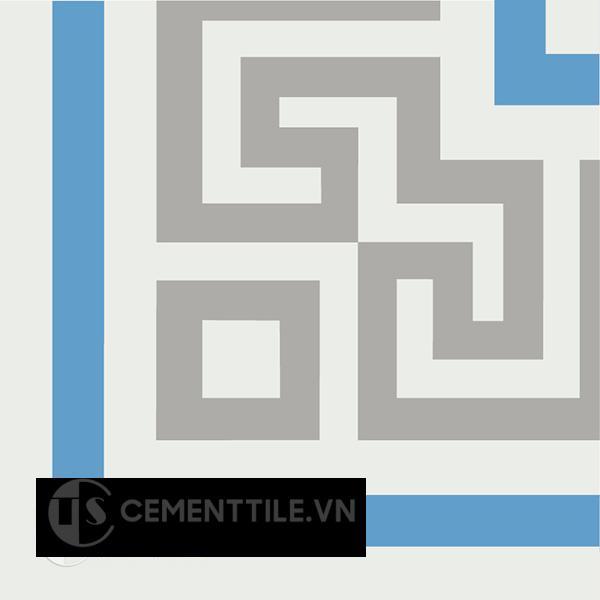 Gạch bông CTS C103.8(4-8-9) - Encaustic cement tile CTS C103.8(4-8-9).x