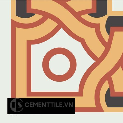 Gạch bông CTS C110.1(4-5-6-13) - Encaustic cement tile CTS C110.1(4-5-6-13)
