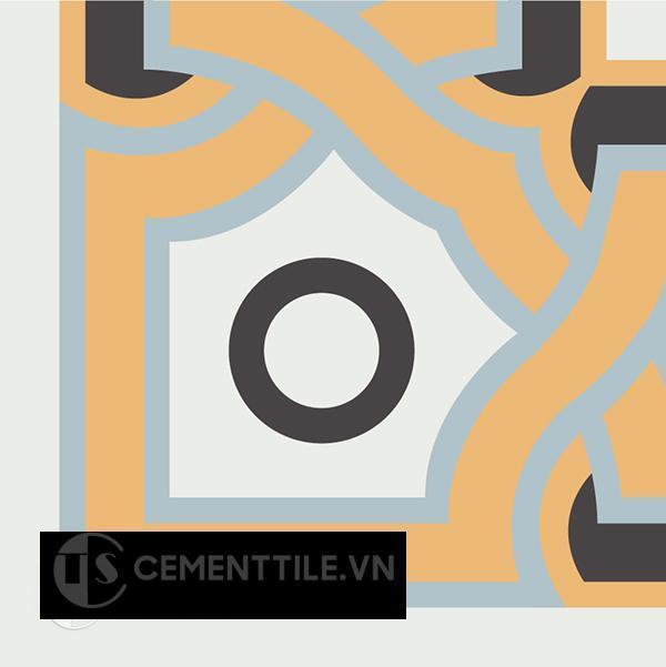 Gạch bông CTS C110.2(4-6-13-29) - Encaustic cement tile CTS C110.2(4-6-13-29)