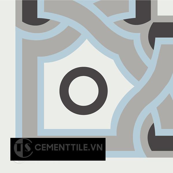 Gạch bông CTS C110.3(2-4-9-13) - Encaustic cement tile CTS C110.3(2-4-9-13)