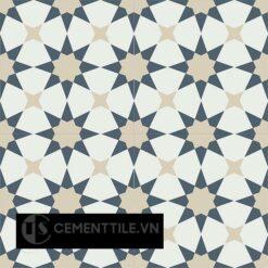 Gạch bông CTS 141.6(4-12-19) - 4 viên - Encaustic cement tile CTS 141.6(4-12-19) - 4 tiles