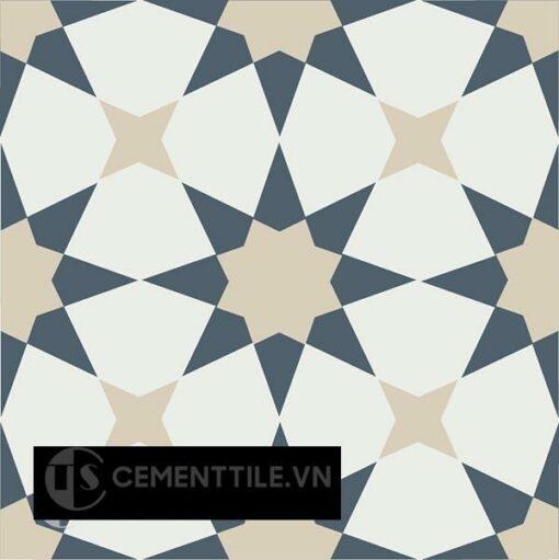 Gạch bông CTS 141.6(4-12-19) - Encaustic cement tile CTS 141.6(4-12-19)
