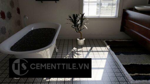 Gạch bông cts 185.1 trang trí nhà tắm