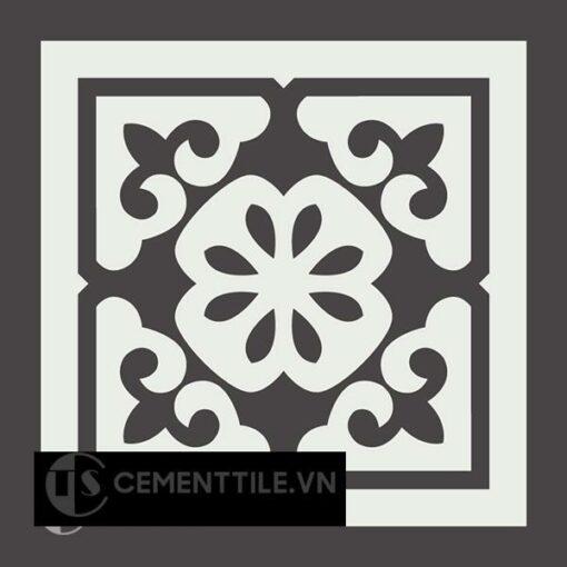 Gạch bông CTS 185.1(4-13) - Encaustic cement tile CTS 185.1(4-13)