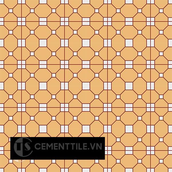 Gạch bông CTS 192.1(4-6-62) - 16 viên - Encaustic cement tile CTS 192.1(4-6-62)-16 tiles