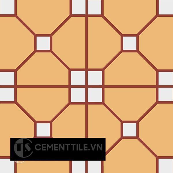 Gạch bông CTS 192.1(4-6-62) - Encaustic cement tile CTS 192.1(4-6-62)
