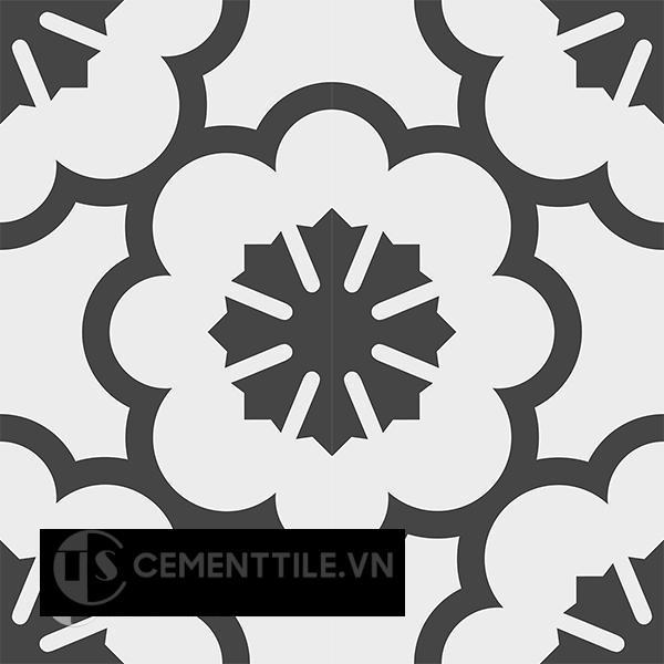 Gạch bông CTS 193.1(4-13) - 4 viên - Encaustic cement tile CTS 193.1(4-13)-4 tiles