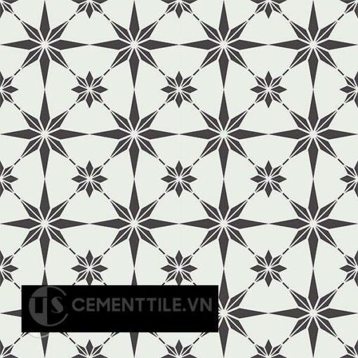 Gạch bông CTS 194.1(4-13) - 16 viên - Encaustic cement tile CTS 194.1(4-13)-16 tiles