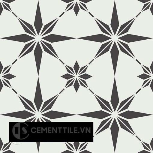 Gạch bông CTS 194.1(4-13) - 4 viên - Encaustic cement tile CTS 194.1(4-13)-4tiles