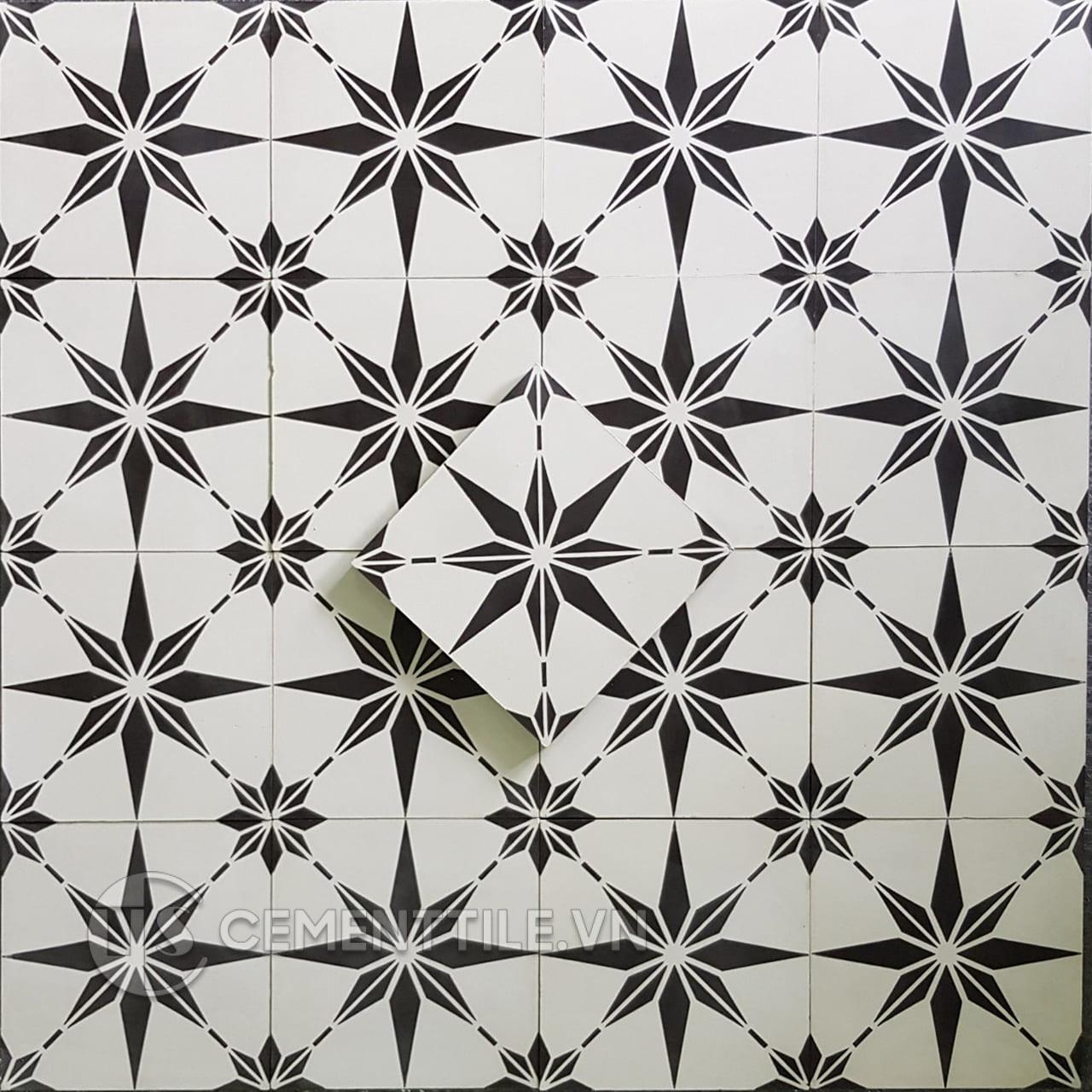 Gạch bông CTS 194.1(4-13) - Encaustic cement tile CTS 194.1(4-13)